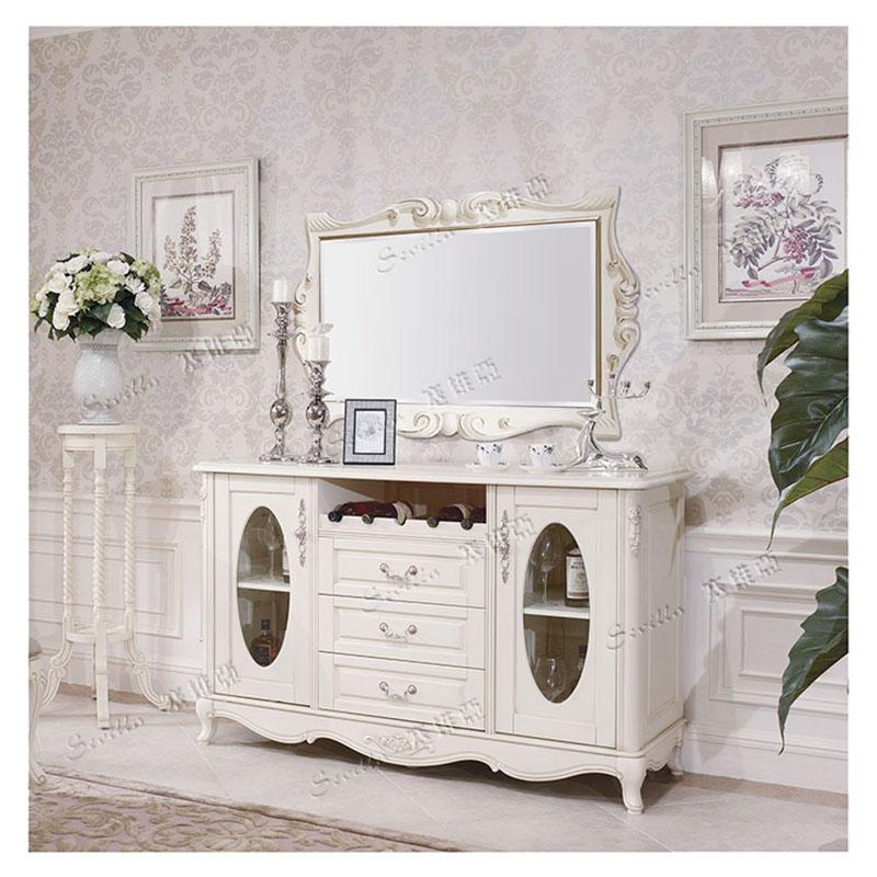橱柜【威林美庭】欧式正品餐边柜家具家具法形式宋元的时期新碗柜图片