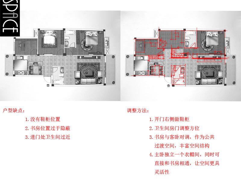 400套平面布置案例分析/家居装修/室内设计/家家具设计投稿图片