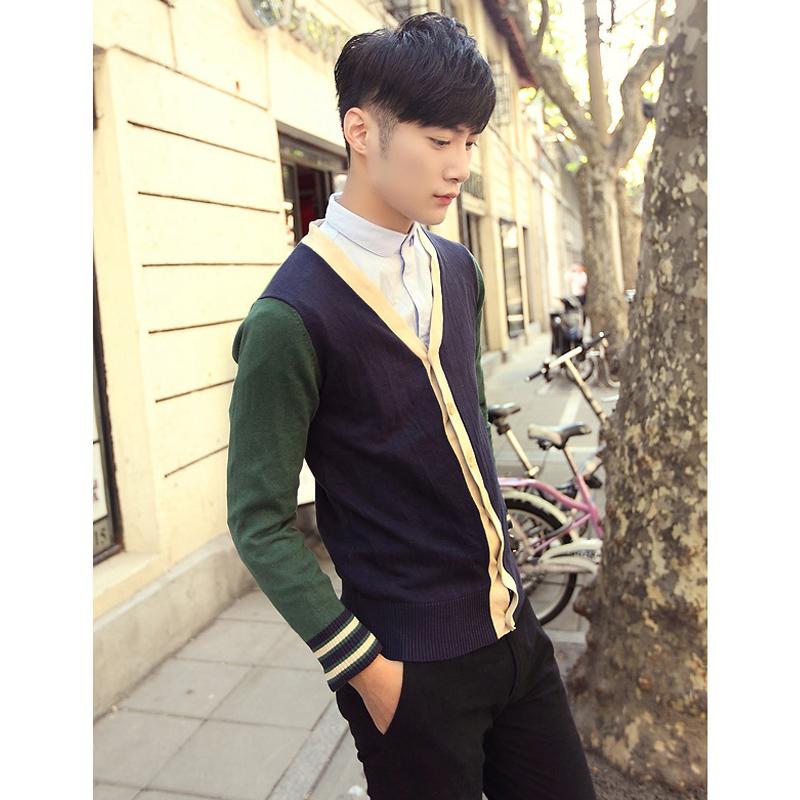 针织男子开衫 开衫 开衫针织衫 针织开衫外套