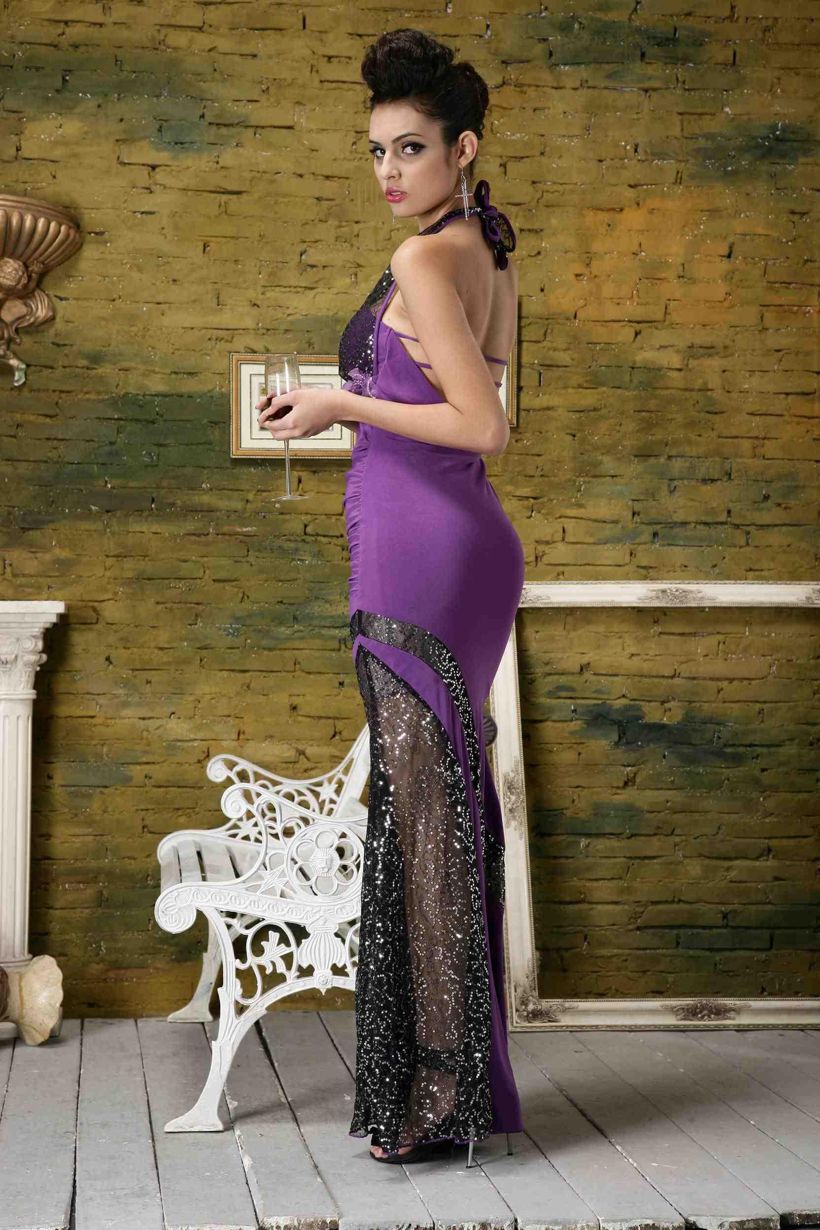 Вечернее платье Lan Kwai Fong 21314 Lan Kwai Fong 2013 года Макси-юбка (более 126см)