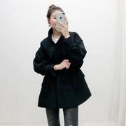 韩国风衣女装中长款2019春装春季春秋春款小个子短款外套