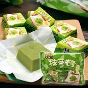 日本进口松尾宇治抹茶夹心巧克力糯米糍7枚入办公室零食小吃零食