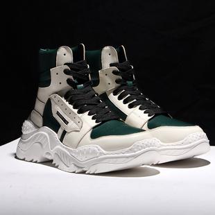 梅西空军一号高帮运动男鞋潮流英伦马丁靴冬季保暖潮靴子