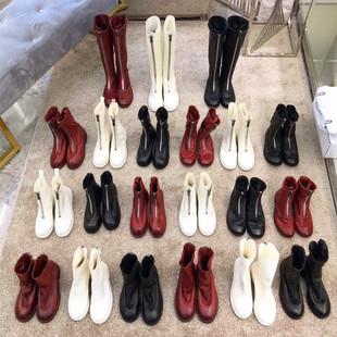 guidi倒靴2018马丁靴女英伦风学生百搭310前拉链短靴pl2