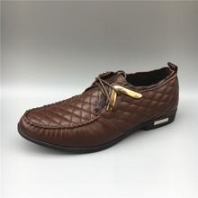 公牛世家男鞋19断码全牛皮圆头厚底系带商务男士皮鞋