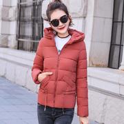 短款棉衣女2018冬季女装羽绒棉服时尚小棉袄加厚外套