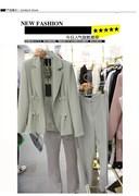 西装套装女2020春秋季韩版女装两件名媛OL修身休闲小西装外套