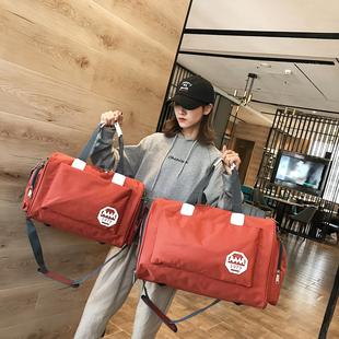 旅行包短途潮耐用牛津布男女通用斜挎包手提大容量旅行袋