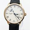 格拉苏蒂手表议员18K玫瑰金瑞士腕表机械男表100-04-32-15-04