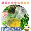 韩国树叶金箔黄金精油香皂洗脸保湿补水润肤紧致肌肤美容洁面皂