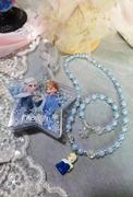 冰雪奇缘出口DIY手链项链公主卡通可爱礼盒儿童生日礼物
