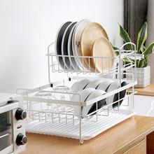 厨房碗碟收纳架落地式台面沥水碗架碗柜多层置物用具用品家用大全