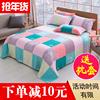 100纯棉床单单件 三件套秋冬女款加厚全棉被单双人1.5 1.8m2米床