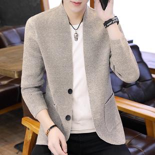 2021秋冬季外套男韩版潮流外衣服薄款男士风衣帅气潮男装上衣