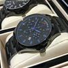 卡罗莱全自动机械表时尚男士手表商务男表真皮带防水运动腕表
