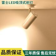 雷士照明 LED吸顶式COB射灯明装天花灯客厅卧室商场服装店灯12W24