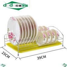 碗架台面厨房间沥水支架子双层放盘子筷子碗筷凉家用碗碟收纳置物