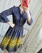 轻奢尾~气质优雅重磅03双绉真丝连衣裙女夏中长款100%桑蚕丝裙子