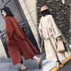 赫本风毛呢大衣女中长款2018秋冬季流行呢子冷系女装外套