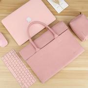 苹果mac笔记本电脑包女手提macbook12pro小米 联想13内胆华硕14寸公文包男15戴尔 英寸小清新保护包
