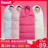 抱被新生儿用品秋冬款冬季加厚初生襁褓外出宝宝睡袋两用婴儿包被
