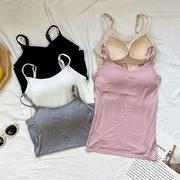 孕妇吊带背心内衣一体文胸女带胸罩怀孕期可外穿舒适打底薄款抹胸
