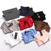 R920 气质女装夏季基础款圆领显瘦棉质短袖百搭女式T恤衫
