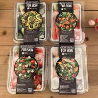 3盒 源99请皮肤吃个健康餐~韩国果蔬组合沙拉面膜套盒整盒7片