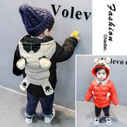 男童棉衣加厚2018冬装外套衣服婴儿童棉袄中长款宝宝羽绒棉服