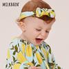 milkbarn婴儿发带护囟门新生儿宝宝发箍可爱超萌卤门头饰发饰