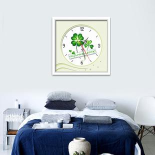 十字绣小件卡通钟表客厅现代简约清新卧室2021线绣简单绣