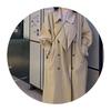 秋季2020韩版宽松坠感风衣女装中长款英伦风日系风格穿搭外套