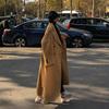 毛呢外套女冬季加厚赫本风超长款到脚踝过膝宽松复古流行呢子大衣