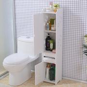 卫生间宜家置物架落地浴室马桶边柜厕所多功能防水夹缝收纳储物柜