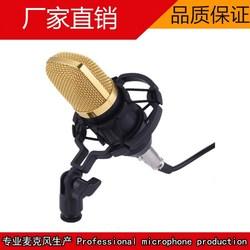 BM-700大震膜电容拉菲娱乐 套装酷狗唱吧yy主播电脑K歌录音话筒