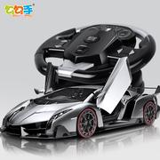 勾勾手大号电动遥控车玩具充电男孩无线遥控漂移赛车儿童玩具汽车
