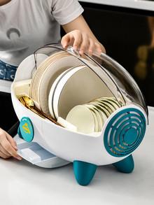 家用碗筷风干消毒杀菌碗柜餐具收纳盒沥水碗架厨房凯发k8娱乐手机版用具置物架