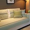 美式棉麻秋冬沙发垫布艺防滑坐垫四季通用简约现代沙发巾套罩全盖
