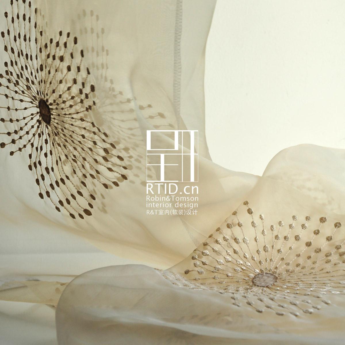 【呈开】定制田园风格花朵窗帘窗纱客厅卧室飘窗纱帘成品*含笑花图片