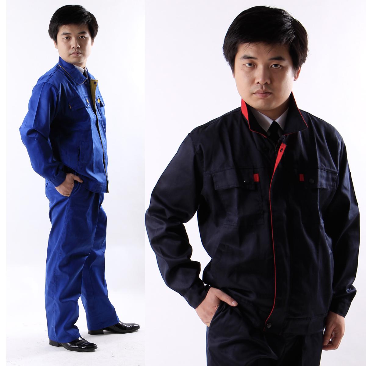 工作服 长袖工程服  汽修服装 工作服套装男 长袖工装  GF-002
