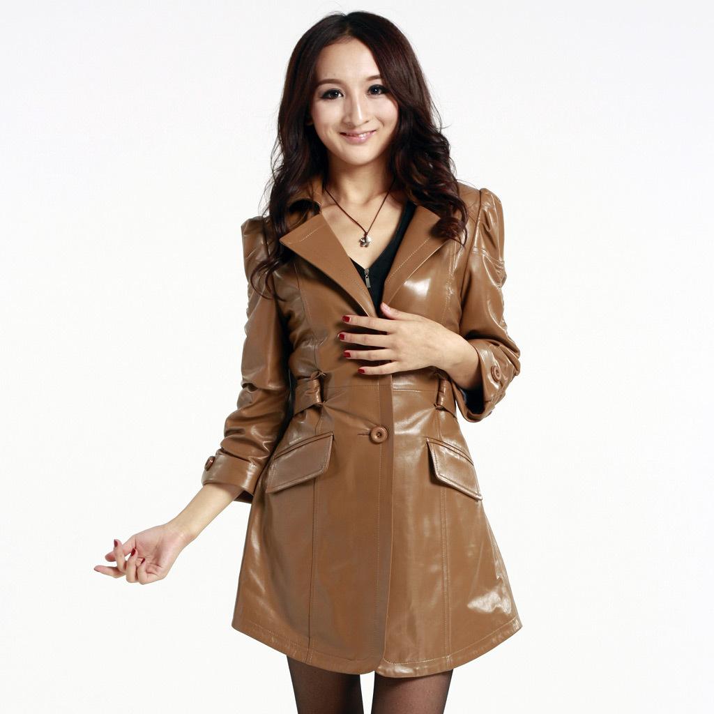 Кожаная куртка  jj80005 OL