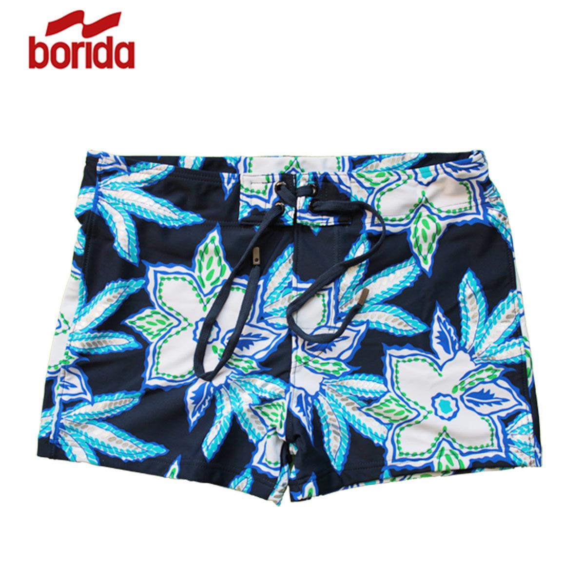 Мужские купальные плавки Borida 1118462 Нейлон, Спандекс Боксер стволы плавания