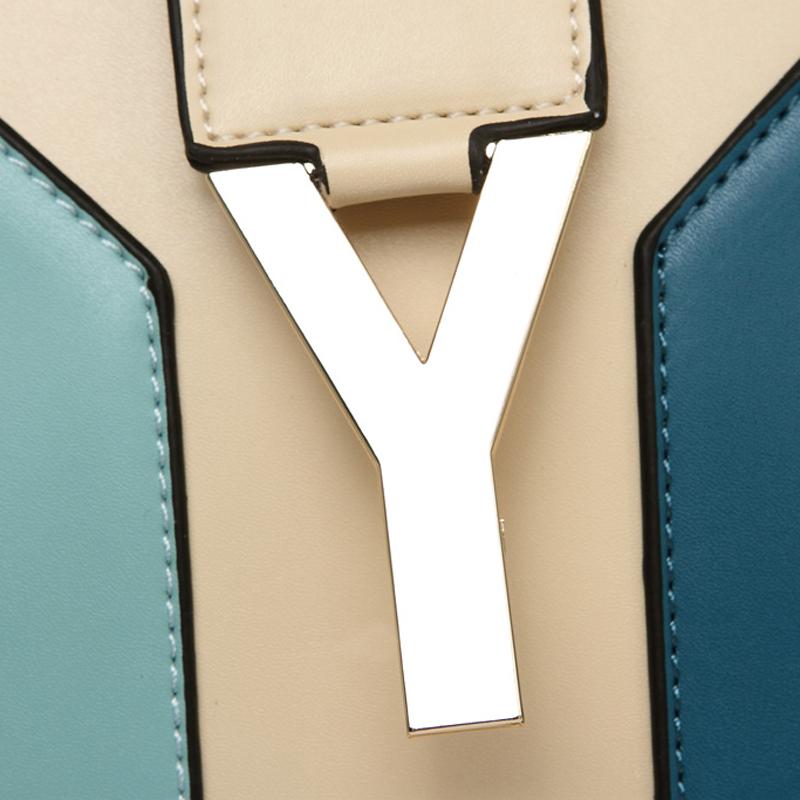 Сумка OPPO 9496/3 2012 Девушки Женская сумка Однотонный цвет Искусственная кожа