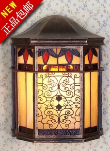New Europe and European-style Wall lamp outdoor wall lighting gel lamp courtyard terrace outdoor lamp light retro outdoor light