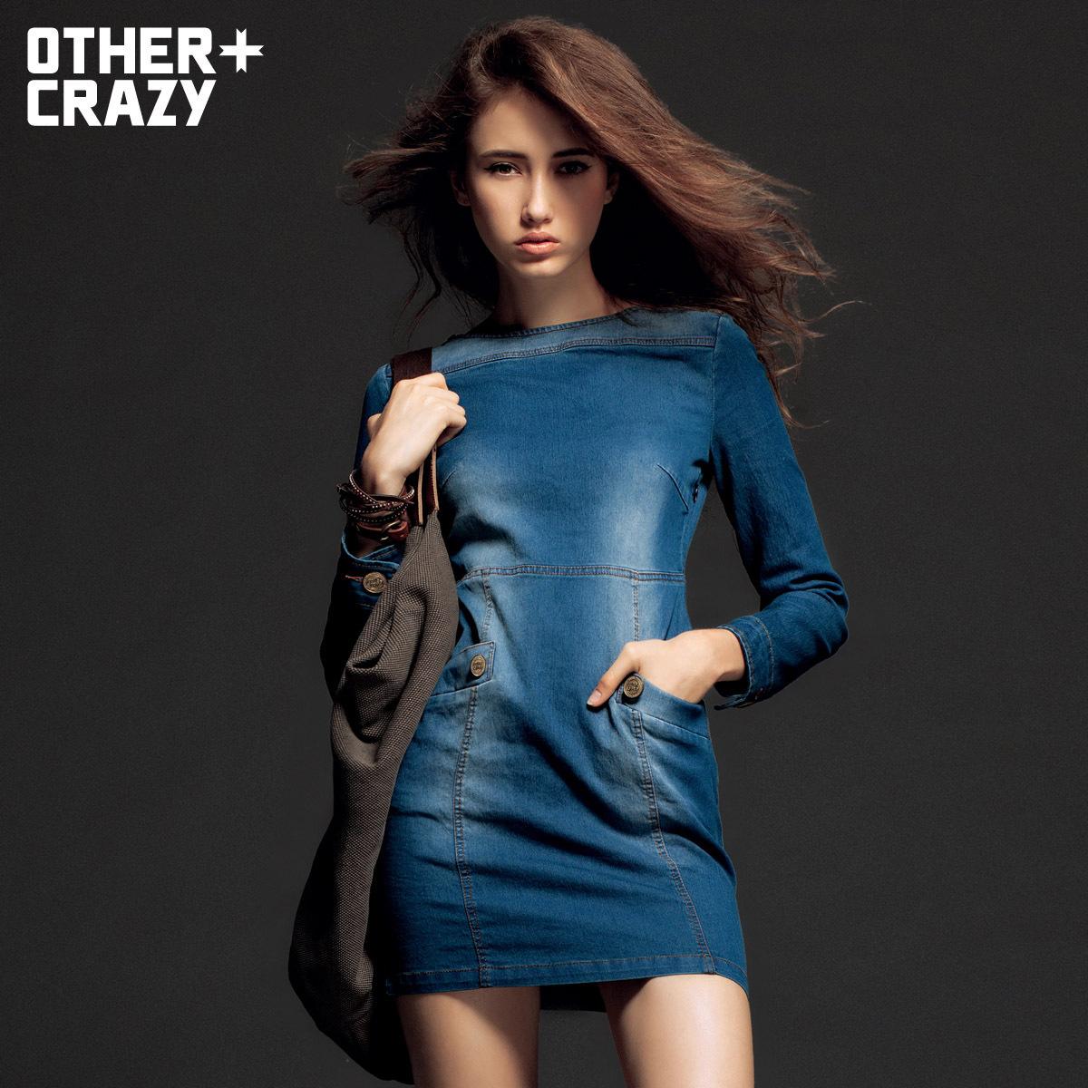 Женское платье Othercrazy 12cr093003f Осень 2012 Разные