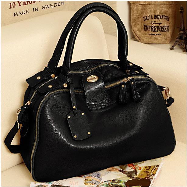 Сумка 126 2012 Жен. Женская сумка Однотонный цвет Искусственная кожа