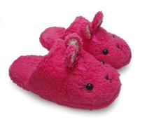 冬季韩版情侣款可爱卡通小兔保暖家居男女棉鞋一家三口亲子棉拖鞋