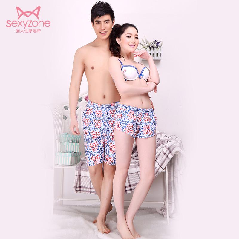 Пижамные штаны Miiow Для пары Полиэстер В форме сердца Лето