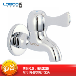 Valley bathroom thickened copper single cold water faucet single cold quick opening mixer