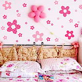 Betu [One hundred] Figure romantically decorated bedroom wall stickers children's room lovely flower girl background